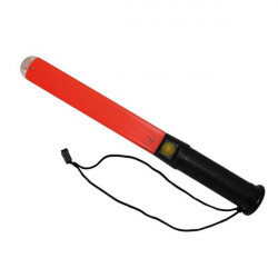 Bastone luminoso Marshalling rosso, a LED