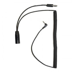 Music Adapter for Helicopter/Military Headset