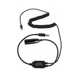 Smartphone Digital Audio Recorder Adapter for Helicopter