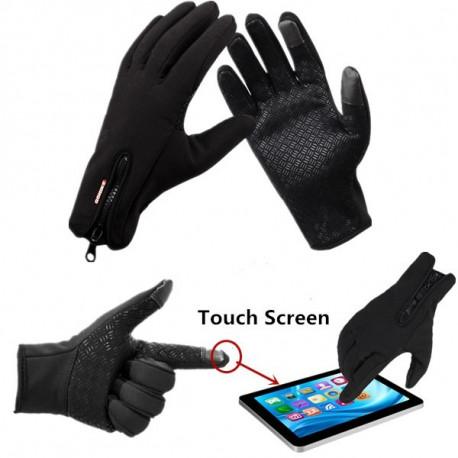 Guanti sportivi invernali per utilizzo di tablet e smartphone