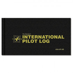 Logbook Pilota International - Copertina rigida