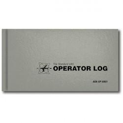 Logbook per Operatore SAPR - Copertina rigida