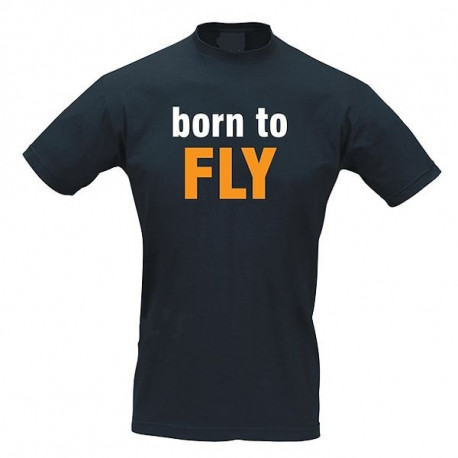 T-Shirt Pilota BORN TO FLY