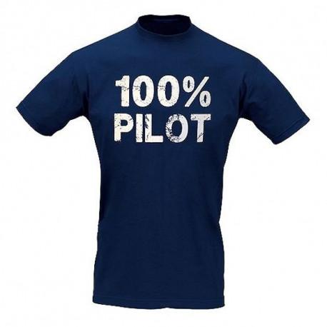 T-Shirt Pilota 100% PILOT