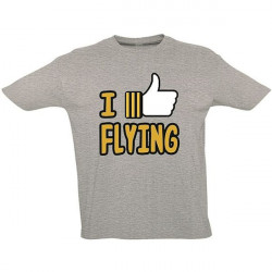 T-Shirt Pilota I LIKE FLYING