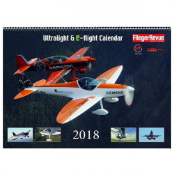 Calendario Ultralight & e-flight 2018