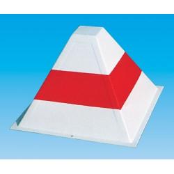 Marcatore pista piramidale