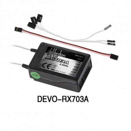 Ricevitore DEVO-RX703A di ricambio per Walkera QR X350 Pro