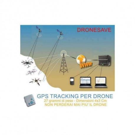 Drone Save Gps Gsm (per tutti i droni, trova il modello in caso di perdita)
