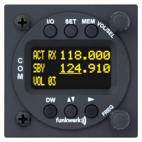 Radio ricetrasmittente VHF Funkwerk ATR833-OLED