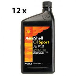 Olio AeroShell Sport Plus4 - 12L