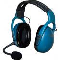 Cuffia Attiva MicroAvionics Microlight UL-100 BLUE